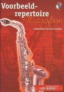 Voorbeeld-repertoire B - Altsaxofoon (HaFaBra Voorbeeldrepertoire B-Examen) (Boek/CD)