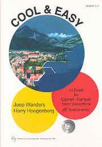 Joep Wanders: Cool & Easy - Alt Saxofoon / Es instrumenten (Boek/CD)