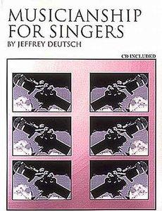 Jeffrey Deutsch - Musicianship For Singers (Book/CD)