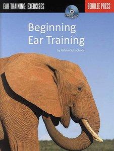 Berklee Press: Gilson Schachnik - Beginning Ear Training (Book/CD)