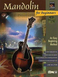 Jim Dalton: Mandolin For Beginners (Book/CD)