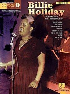 Pro Vocal Volume 33: Billie Holiday (Book/CD)