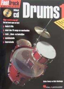 FastTrack Drums 1 (Boek/CD)