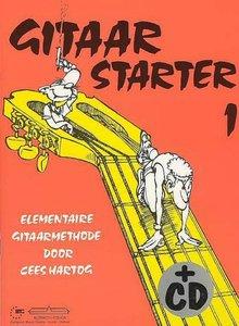Gitaarstarter Volume 1 - Cees Hartog (Boek/CD)