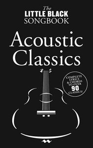 The Little Black Songbook: Acoustic Classics (Akkoorden Boek) (19x12cm)