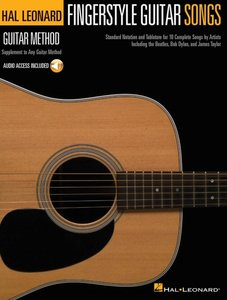 Hal Leonard Guitar Method: Fingerstyle Guitar Songs (Book/Online Audio)