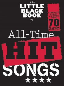 The Little Black Book of All Time Hit Songs (Akkoorden Boek) (19x12cm)