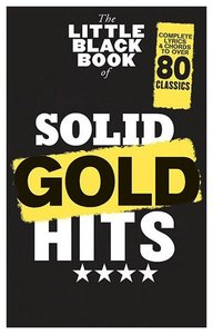 The Little Black Book of Solid Gold Hits (Akkoorden Boek) (19x12cm)