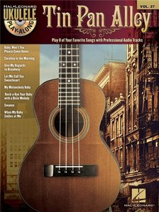 Ukulele Play-Along 27: Tin Pan Alley (Book/CD)