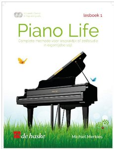 Piano Life - Lesboek 1 (Boek/2 CD)