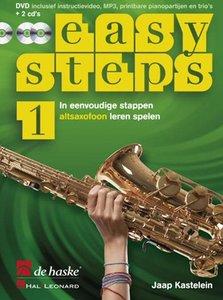 Easy Steps 1 - Altsaxofoon (Boek/2 CD/DVD)