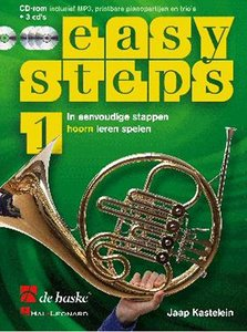 Easy Steps 1 - Hoorn (F) (Boek/2 CD/DVD)