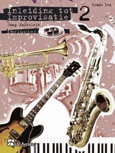 Inleiding Tot Improvisatie 2 - Dwarsfluit / Hobo / C-instrumenten G-sleutel - Deel 2 (Boek/CD)