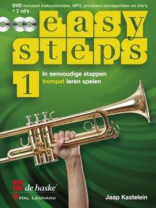Easy Steps 1 - Trompet (Bes) (Boek/2 CD/DVD)