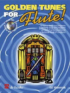 Golden Tunes for Flute! - Tijdloze Songs voor Dwarsfluit (Boek/CD)