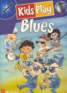Kids Play Blues - Dwarsfluit (Boek/CD)