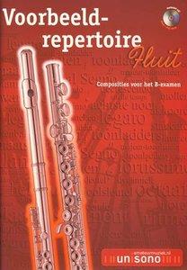 Voorbeeld-repertoire B - Fluit (HaFaBra Voorbeeldrepertoire B-Examen) (Boek/CD)