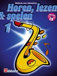 Horen, lezen & spelen 1 - Altsaxofoon (Es) (Boek/CD)