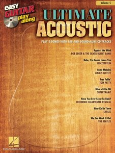 Easy Guitar Play-Along Volume 5: Ultimate Acoustic (Book/CD)