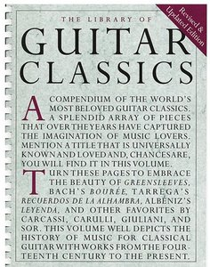 The Library Of Guitar Classics (Boek)
