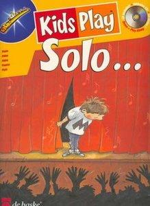 Kids Play Solo - Dwarsfluit (Boek/CD)