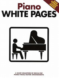 Piano White Pages - Piano/Zang/Gitaar (Book)