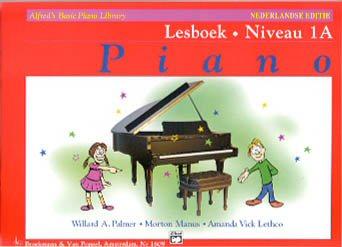 Alfred's Basic Piano Library, Lesboek Niveau 1A (Boek)
