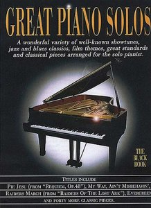 Great Piano Solos - The Black Book (Boek)