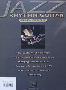 Jack Grassel: Jazz Rhythm Guitar (Book/CD)