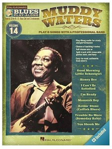 Blues Play Along Volume 14: Muddy Waters (Book/CD) (C, Bes, Es instrumenten)