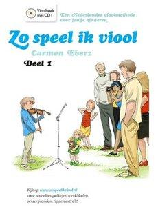 Zo Speel Ik Viool 1 (Boek/CD)