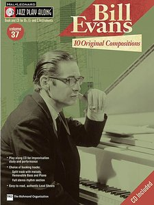 Jazz Play Along: Volume 37 - Bill Evans (Book/CD)