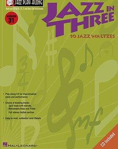 Jazz Play Along Volume 31: Jazz in Three (Book/CD)