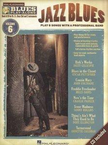 Blues Play Along Volume 6: Jazz Blues (Book/CD) (C, Bes, Es instrumenten)