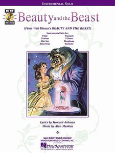 Beauty and the Beast (Alto Sax / Clarinet / Flute / French Horn / Tenor Saxophone) (Boek/CD)