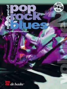 The Sound of Pop, Rock & Blues Vol. 2 - Klarinet / Trompet / Tenorsaxofoon (Boek/CD)