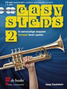 Easy Steps 2 - Trompet (Bes) (Boek/2 CD)