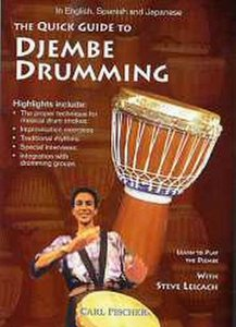 Quick Guide To Djembe Drumming (DVD)