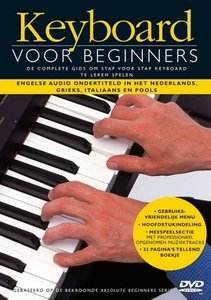 Keyboard Voor Beginners (Boek/CD/DVD/Boekje)