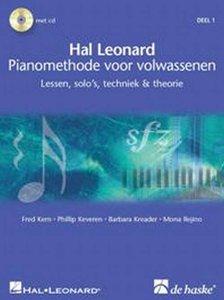 Hal Leonard Pianomethode Voor Volwassenen - Deel 1, Lessen, Solo's, Techniek & Theorie (Boek/2 CD)