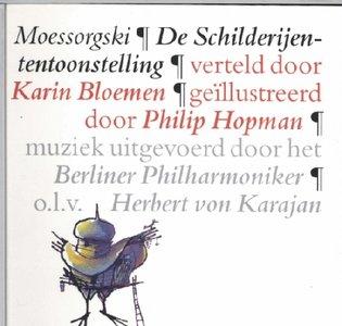 De Schilderijententoonstelling (Karin Bloemen) (Boek 14x14cm inclusief CD)