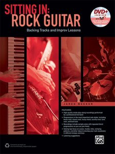Sitting In Rock Guitar (Book/DVD)
