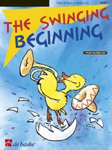 The Swinging Beginning - Dwarsfluit / C instrumenten, G-sleutel (Boek/CD)