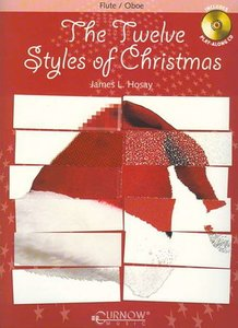 The Twelve Styles of Christmas - Dwarsfluit (Boek/CD)