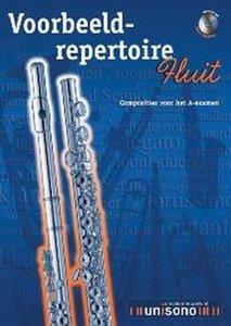 Voorbeeld-repertoire A - Fluit (HaFaBra Voorbeeldrepertoire A-Examen) (Boek/CD)
