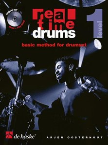 Real Time Drums 1 - Basic Method For Drumset (Level 1) (Boek/CD)