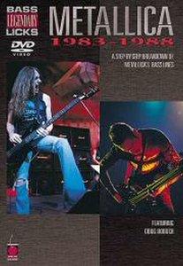 Legendary Bass Licks: Metallica 1983-1988 (DVD)