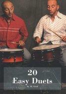 Hudson-Music:-Al.-Graf-20-Easy-Duets-Snare-Drum-(Book-CD)