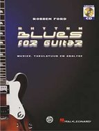 Robben-Ford:-Rhythm-Blues-For-Guitar-(Boek-CD)