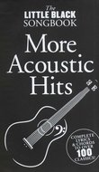 The-Little-Black-Songbook:-More-Acoustic-Hits-(Akkoorden-Boek)-(19x12cm)